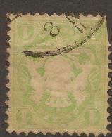 BAVARIA 1870 1k Green Wmk Mesh SG 51A U* #SI15 - Bavière