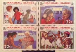 Marshall Islands  1985 MNH** - # 78/81 - Marshall Islands