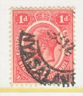 NYASSALAND  26    (o)   Wmk. 4 - Nyasaland (1907-1953)