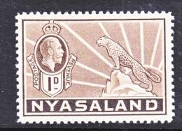 NYASSALAND  39   * - Nyasaland (1907-1953)