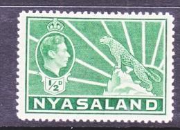 NYASSALAND  54 A  * - Nyasaland (1907-1953)