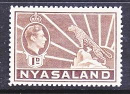 NYASSALAND  55    * - Nyasaland (1907-1953)