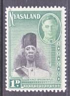 NYASSALAND  69   * - Nyasaland (1907-1953)