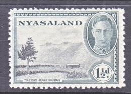 NYASSALAND  70   * - Nyasaland (1907-1953)