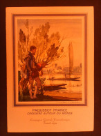 1 Menu Paquebot France 1974 - Shareholdings