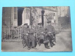 SOLDATEN / SOLDIERS / SOLDATS ( Identify - Identificier ) Anno 1914-16 ( Zie Foto Voor Details ) ! - Personen
