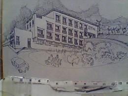 MONTEPORZIO CATONE RESIDENZA X SIGNORINE  MARIA CLARAC ILLUSTRATA   N1970 FJ11257 - Italia