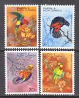 PAPUA  NEW  GUINEA  249-52  *  PARROTS - Parrots
