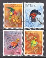 PAPUA  NEW  GUINEA  249-52   (o)    PARROTS - Parrots