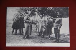 La Guerra ITALIANA - CAMPAGNE D'ORIENT - Le Prince ALEXANDRE De SERBIE Au Camp Italien En MACEDOINE. - Guerra 1914-18