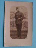 Soldaat / Soldier / Identify ( 4 Op Muts / Buderich / Gaston ) - Anno 1922 ( Zie Foto Voor Details ) ! - Personen
