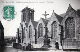 LANNION - Eglise Saint Jean Du Baly Et Le Calvaire -(239) - - Lannion