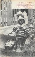 La Vie Aux Champs - Je Suis Jolie Et Puis Mignonne - Poème Henri Ermice - Fillette En Costume Avec Panier D'oeufs - Agriculture