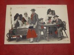 FRANCE - ALSACE - FOLKLORE - Famille Alsacienne - Costume National - Costumes