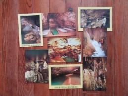 Lot De 8 Cartes Postales Du Gouffre De Padirac ( Lot )                Grotte - Cartoline