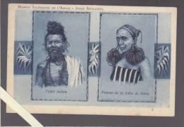 Inde - Indes Anglaises - Mission Salesienne De L'Assam - Fakir Indien / Femme De La Tribu De Garo - India