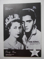 - ELVISLY YOURS - Magazine Du Club Elvis Presley à Londres. Edition Limitée 1981 - - Livres, BD, Revues