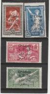 /Grand Liban _  Série Jeux Olympiqe (1924 )n°37/40
