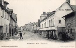 27 EURE - MONTFORT SUR RISLE Le Bourg, Hôtel Fleury - Francia