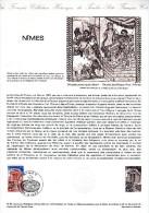 """★  1981 : Document Philatélique Officiel N° 14-81 """" NIMES """". N° YT 2133. Parfait état DPO - FDC"""