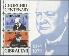 GIBRALTAR 1974 MI-NR. Block 1 ** MNH (101) - Gibraltar