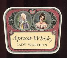 Etiquette De  Whisky  Abricot  -   Lady Worthon - Whisky