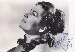Mezzosoprano Biserka Cvejic Photo W Original Signature Autograph - Opéra