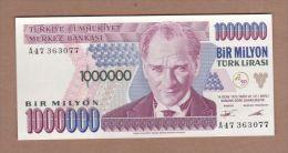 AC - TURKEY - 7th EMISSION 1 000 000 TL A UNCIRCULATED - Turchia
