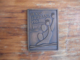 III Kup Jadrana 1967 - Water Polo