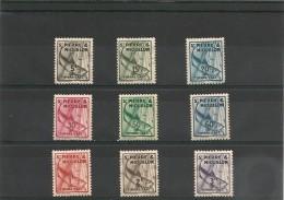 Saint Pierre Et Miquelon TAXE Année 1938 N°Y/T :32/41**/* - Strafport
