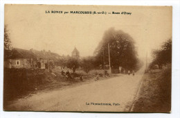 CPA   91  :  LA RONCE   Route D´Orsay       A    VOIR  !!! - France