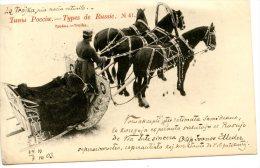 V1934 Cpa Types De Russie - Troika - Russie
