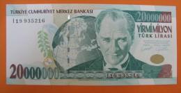 AC - TURKEY- 7TH EMISSION 20 000 000 TL I UNCIRCULATED - Turquie