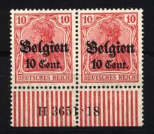 Belgien,14cII,3651.18/W,xx (4130) - Besetzungen 1914-18