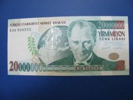 AC - TURKEY 7 TH EMISSION 20 000 000 TL A UNCIRCULATED - Turquie