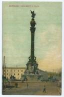 Genre Carte-photo épaisse ,  Bon Etat , Espagne , Catalogne,   Monumento A   Colôn  Carte Rare - Barcelona
