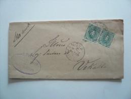 Regno - Piego - Viaggiato Da Giulianova 1894 - 1878-00 Umberto I