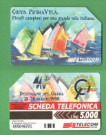 Schede Telefoniche > TELECOM FIV Desenzano Garda 5000 Lire Dicembre 2000 - Italie