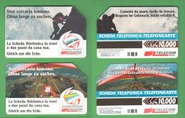 Schede Telefoniche > TELECOM Non Cercarla Lontano 10000 Lire Bilingue Giugno 2000 E Dicembre 1999 - Italy