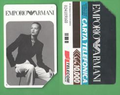 Schede Telefoniche > TELECOM Emporio Armani 10000 Lire Dicembre 1997 - Italia
