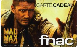 @+ Carte Cadeau - Gift Card : FNAC - Film Mad Max - France