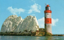 Postcard - Needles Lighthouse, Isle Of Wight. WJN1240 - Lighthouses