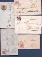 Italie & Anciens Etats Collection - 38 Lettres + 2 Devants - 9 Scans - Lotti E Collezioni