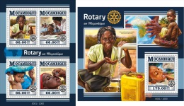 Mozambique 2016 Rotary In Mozambique Medicine MS+S/S MOZ15420 - Famous People