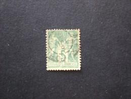 FRANCIE 1876 -1878 SAGE 2 TIPO OBLITERE ALEXANDRIE D EGYPTE - 1876-1898 Sage (Type II)