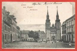 CPA Belgique - Eupen - Gruss Aus Eupen - Marktplatz - Eupen