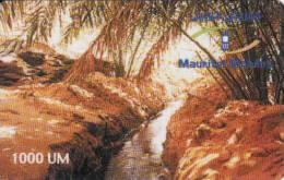 Mauritanie, 1000 Units, Recharge Card - Mauritanie