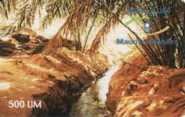 Mauritanie, 500 Units, Recharge Card - Mauritanie