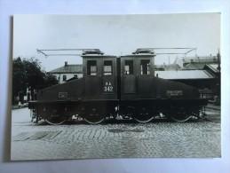 Italy Valtellina Railways Railroad Ganz MÁVAG Bo' Bo' Train Locomotive - Trains