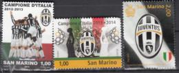 SAN MARINO- Famous FootBll Club- Juvuntus Of Italy- MNH - Soccer- World Clubs - Nuovi